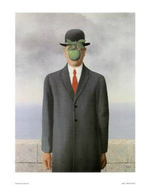 "FAR33907"" Rene Magritte - Son of Man"" (11 X 14)"