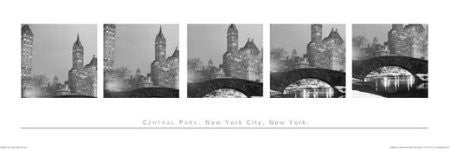 Central Park, NY (Polyptych)(12x36) - BAW50001