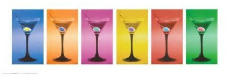 "FAR55065"" Martini Glasses"" (12 X 36)"