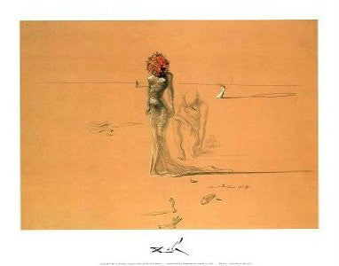 "FAR44163"" Salvador Dali - Female Figure"" (11 X 14)"