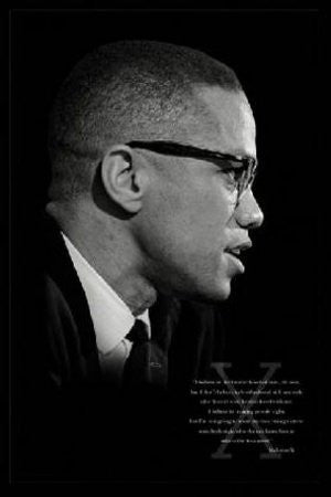 "ISP30928"" Malcolm X - Brotherhood"" (24 X 36)"