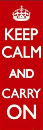 "ISP20071"" Keep Calm and Carry On"" (21 X 61)"