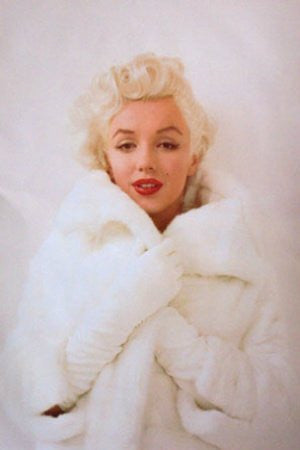 Marilyn Monroe - Mink (24x36) - PIN02094