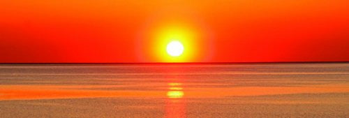 NAT90018 Red Sunset 12x36