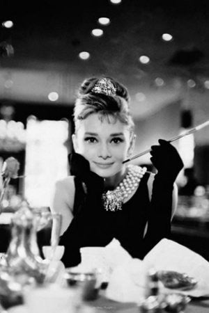 Audrey Hepburn - Breakfast at Tiffany's (24x36) - FLM02014