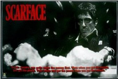 "FLM00067"" Scarface - Cocaine Horizontal"" (40 X 60)"