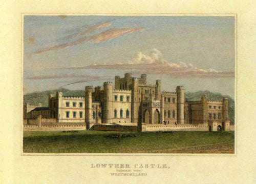FAR31191 Serie Castelli - 'Lowther Castle' (14 X 20)