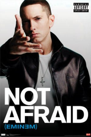 Eminem - Not Afraid (22x34) - MUS55990