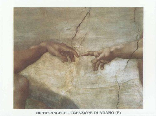 FAR31212 Michelangelo - 'Creation of Adam' (20 X 28)