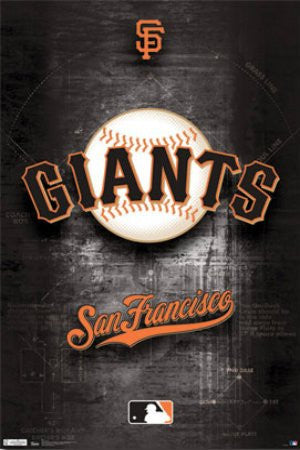 "SPT33370 ""San Francisco Giants - Logo"" (22 X 34)"