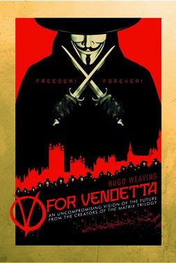 V for Vendetta (Style B) (24x36) - FLM91076