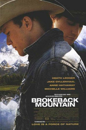 "FLM00077"" Broke Back Mountain - Movie Promo"" (24 X 36)"