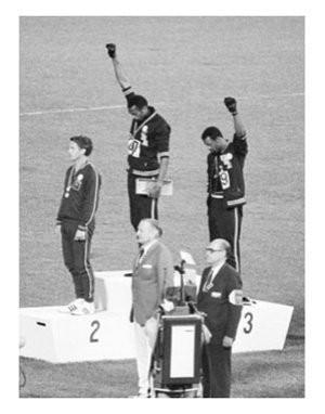 1968 Olympics - Black Power.
