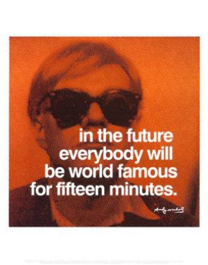 Andy Warhol Quote (11x14) - FAR41581
