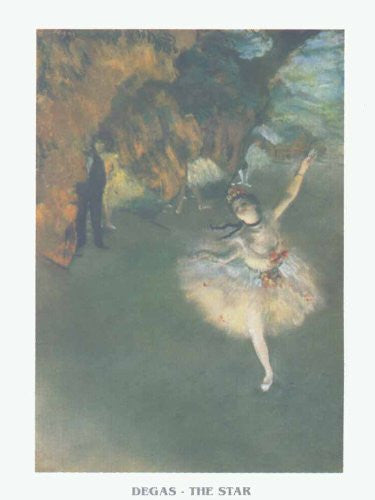 FAR32707 Degas, E. - 'The Star' (23 X 31)