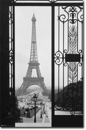 Eiffel Tower (Gate View) (22x34) - ARC32651