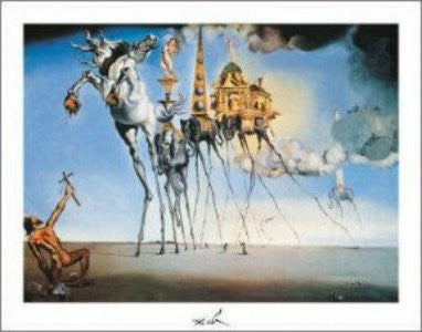 "FAR32051"" Salvador Dali - Temptation of St. Antoine"" (11 X 14)"