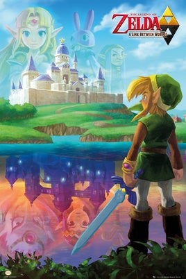 "FLM91091 - Zelda - A Link Between (24"" x 36"")"