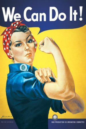 "Rosie the Riveter ""We Can Do It"" (24x36) - ISP00052"