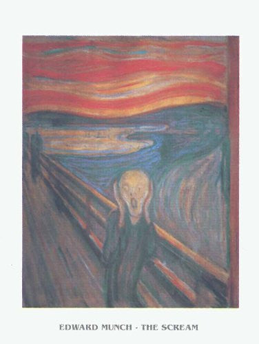 FAR32445 Munch - 'The Scream' (23 X 31)