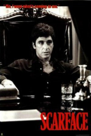 "FLM33084"" Scarface - 'What's Coming'"" (24 X 36)"