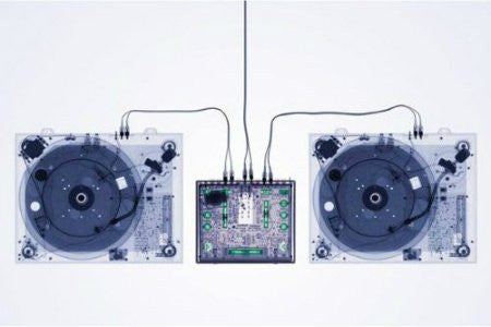 Turntables (X-Ray)(24x36) - MUS33106