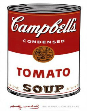 Andy Warhol - 'Campbell's Soup' (11x14) - FAR41196