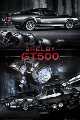 Ford Shelby GT500 (Silver) (24x36) - SPT90081
