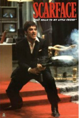"FLM33068"" Scarface - 'Red Carpet'"" (24 X 36)"