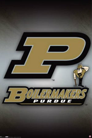 "SPT33352 ""NCAA - Purdue University"" (22 X 34)"