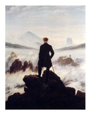 Caspar Friedrich - 'Wanderer Above the Sea of Fog' (11x14) - FAR01098