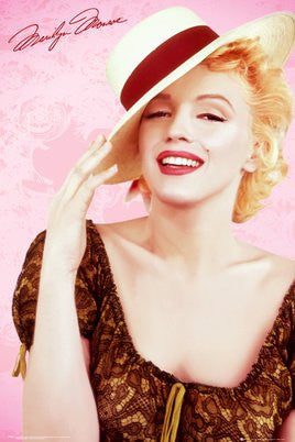 Marilyn Monroe - Hat (24x36) - PIN60047