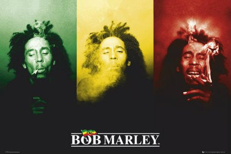 Bob Marley - Rasta Color (24x36) - RAR55999