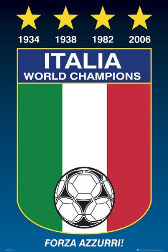 SPT44519 Italy World Champions 24X36