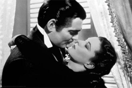 "FLM04240"" Gone With The Wind - Be Kissed"" (24 X 36)"