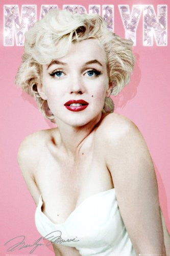 Marilyn Monroe - Diamond (24x36) - PIN51201