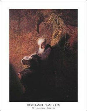 "FAR90058"" Rembrandt - Philosopher Reading"" (11 X 14)"