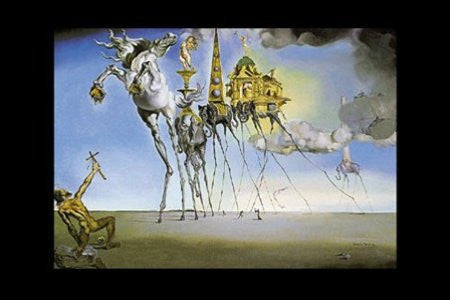 Salvador Dali - 'Temptation of St. Antoin' (24x36) - FAR01205
