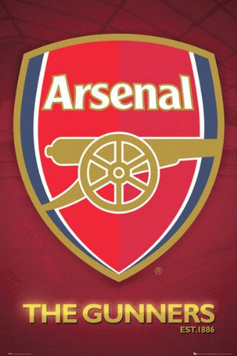 SPT44510 Arsenal Crest 24X36