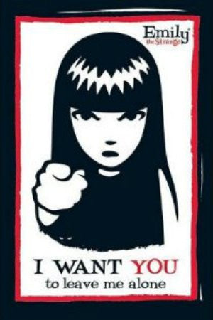"Emily the Strange - ""I Want You..."" (24x36) - ILL00014"