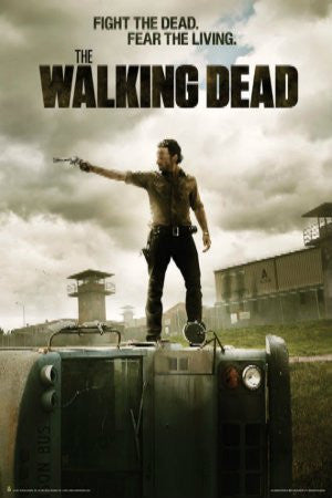 "Walking Dead - ""Fight the Dead, Fear The Living"" (24x36) - FLM70018"
