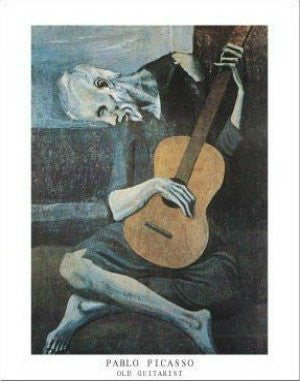 "Pablo Picasso - ""Old Guitarist"" (11x14) - FAR00859"