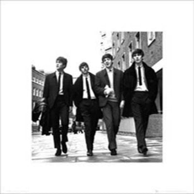 The Beatles - Walking In London (16x16) - MUS33915