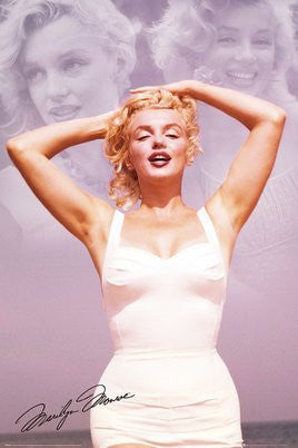Marilyn Monroe (Collage) (24x36) - PIN00798