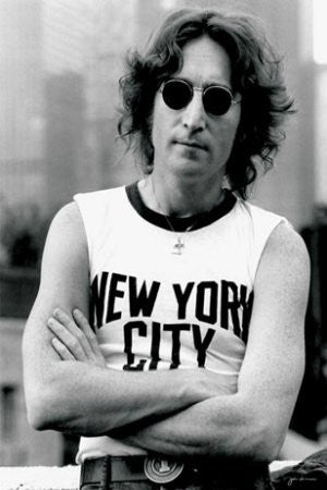 John Lennon - New York City (24x36) - MUS00879
