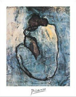 Pablo Picasso - 'Blue Nude' (11x14) - FAR00858