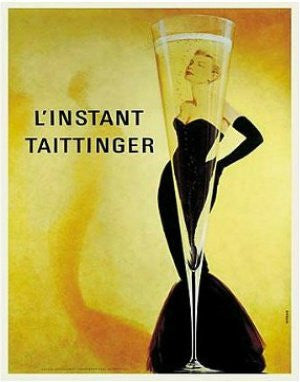 "FAR33905"" Grace Kelly - L'Instant Taittinger"" (11 X 14)"