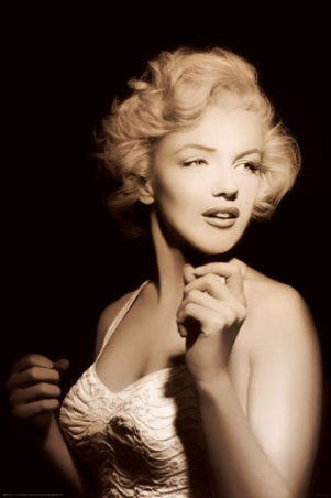 Marilyn Monroe - Spotlight (24x36) - PIN57038