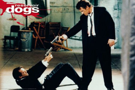 "Reservoir Dogs - Mr. Pink and Mr. White"" (24x36) - FLM55309"