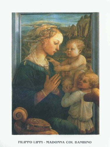 FAR31292 Lippi, F. - 'Madonna with Child' (23 X 31)